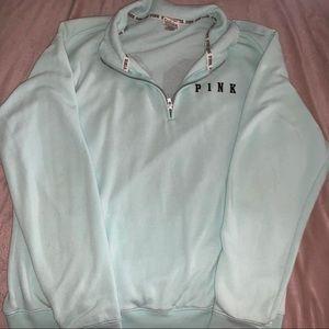 Victoria Secret Pink baby blue hoodie